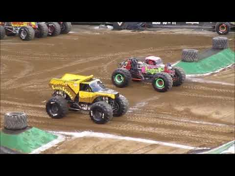 Monster Jam, 2019, Lincoln Financial Field, Philadelphia PA, 4/20/19 (FULL SHOW)