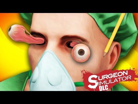 OPERACION DE OJOS EXTREMA | Surgeon Simulator DLC