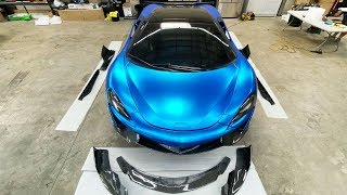 CARBON FIBER BODY KIT FOR MY MCLAREN HAS FINALLY ARRIVED! *EXCITED*