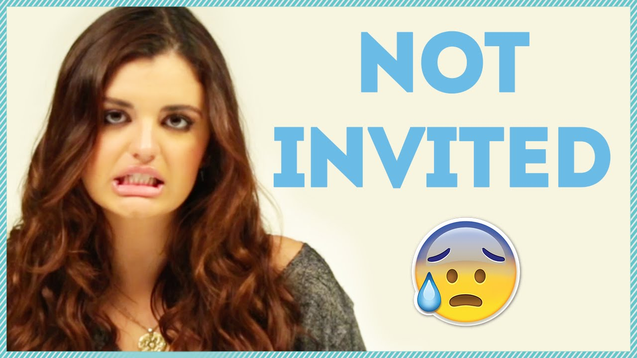 NOT INVITED TO THE PARTY w Rebecca Black YouTube – Invite to Party