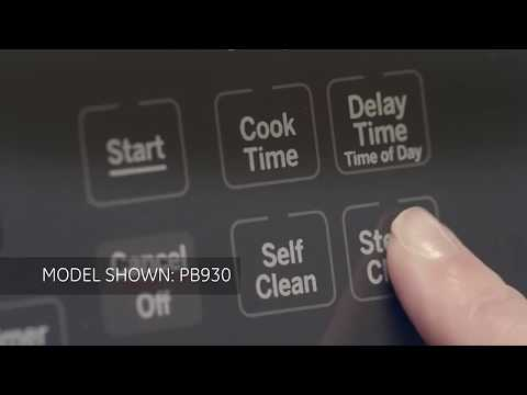 Monogram Self Clean with Steam Clean Option
