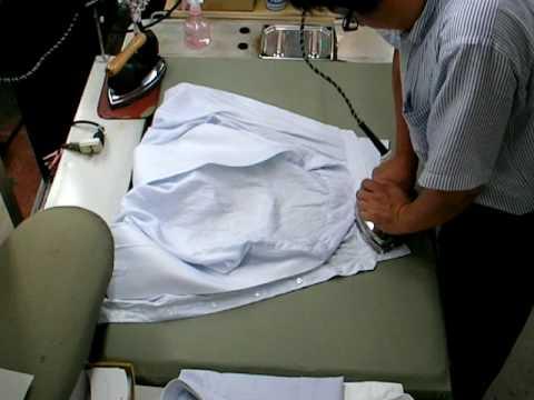 ワイシャツアイロン仕上げ