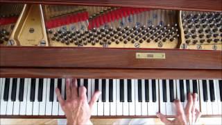"""""""Sweet Lorraine"""", Jazz Piano Solo, w/ links to tutorials."""