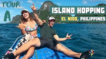 ISLAND HOPPING: Tour A - El Nido, Palawan, Philippines