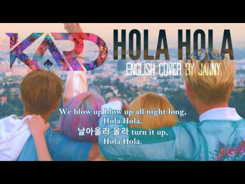 KARD (카드) - Hola Hola | English Cover by JANNY