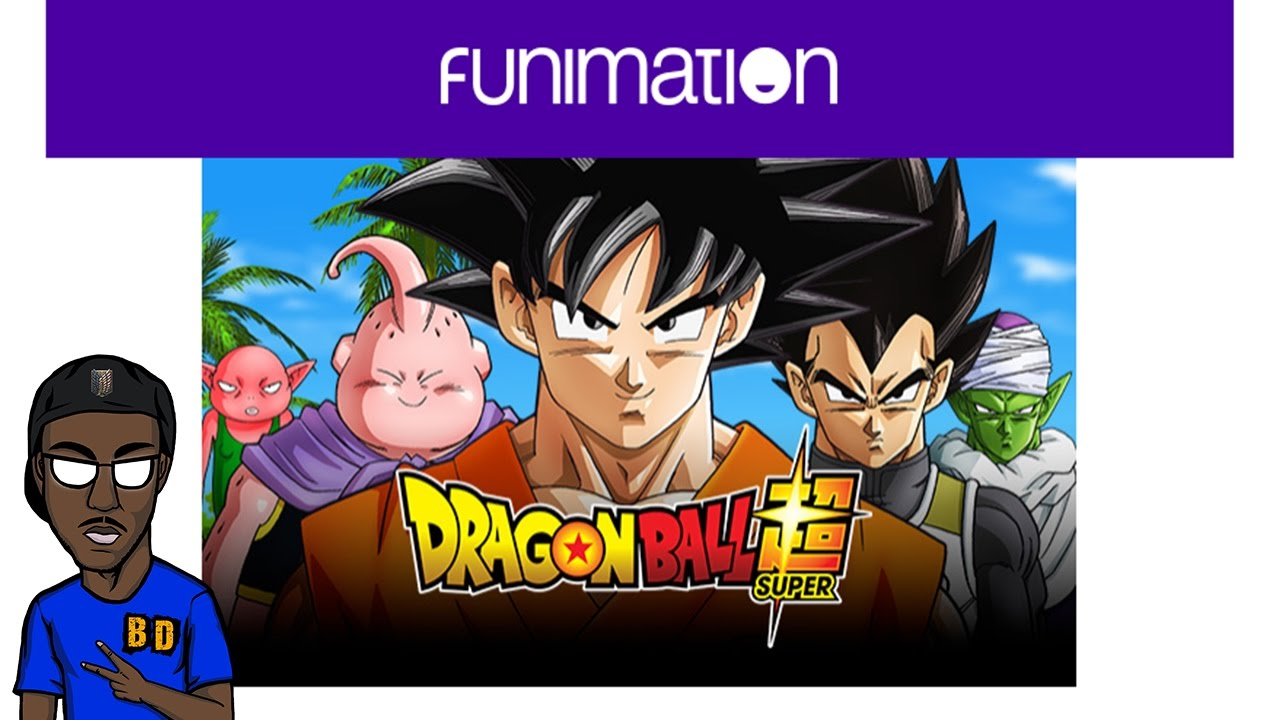 funimation to release dragonball super english dub blu ray and more
