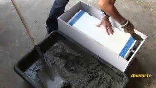IDEAS CONCRETAS: Cómo hacer una hielera-jardinera en concreto
