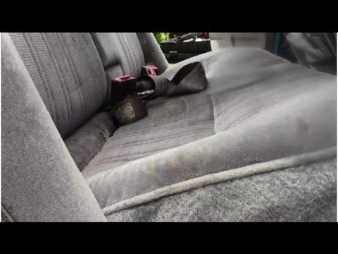 How to Remove Back Seat on Ford Contour