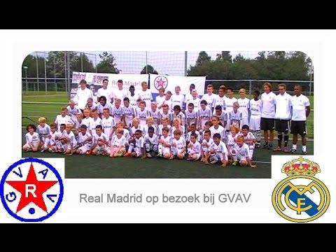 Real Madrid voetbalschool bij GVAV 10~14 aug 2015