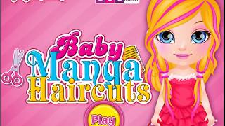 Игра про красивые прически для Барби в прикольном стиле Манго