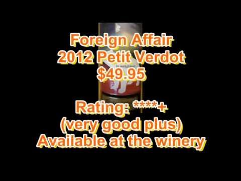 Ontario Wine Review Video #184: Foreign Affair 2012 Petit Verdot