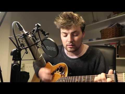 sad boy with a guitar