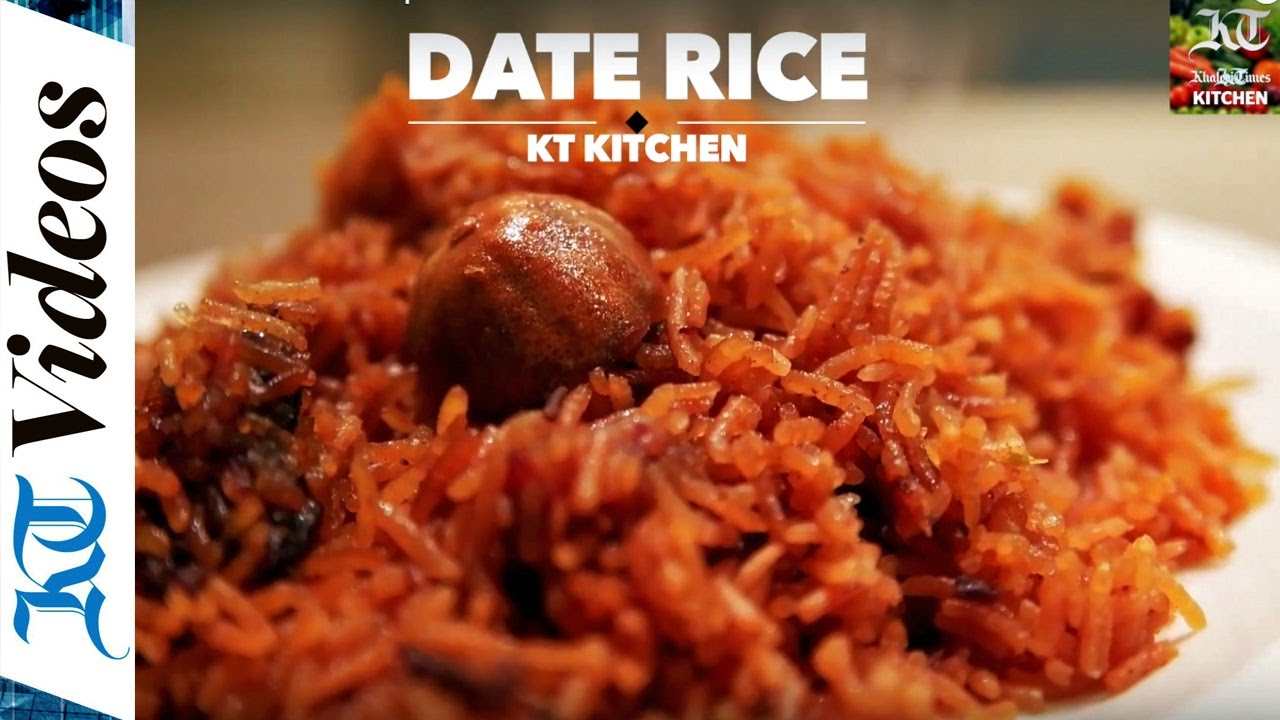 How To Cook DATE RICE - Food Recipe
