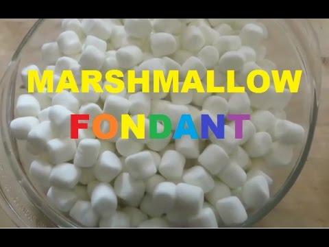 Homemade Marshmallow Fondant Tasty & Easy Recipe Tutorial ...