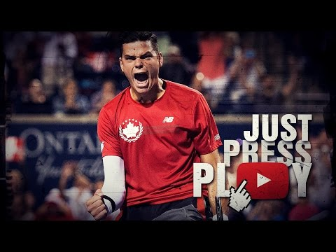Milos Raonic - The Big Gun of Tennis (HD)