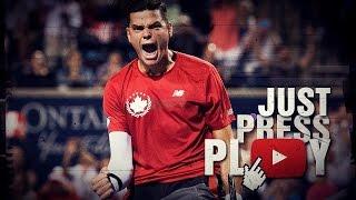 Milos Raonic - The Big Gun of Tennis (HD)