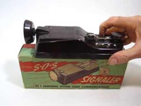 FLERON SOS SIGNALER Boys Scouts of America Vaintage Morse Key