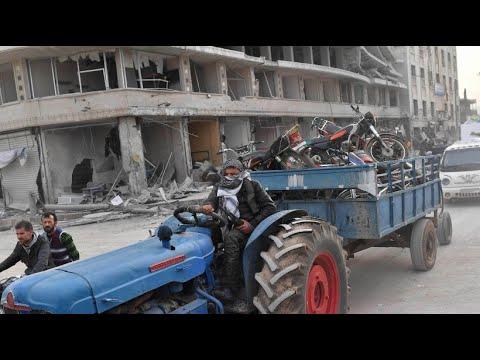 Nach türkischem Einmarsch: Chaos und Plünderungen in Afrin