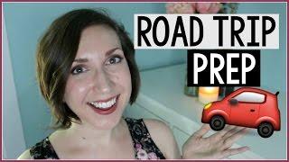 ROAD TRIP | Road Trip Tips + Essentials