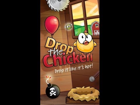 Drop The Chicken iPhone/iPad GamePlay (HD)
