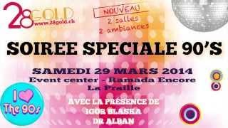[Spot TV] Soirée 28 Gold du 29 mars 2014 à Genève