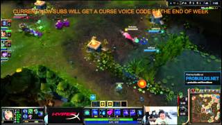 TheOddOne playing Ahri mid PATCH 4 5