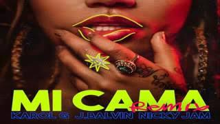 Mi Cama   - Karol G Ft. J Balvin Nicky Jam