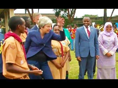 Ozzy Man Reviews: Theresa May Dancing