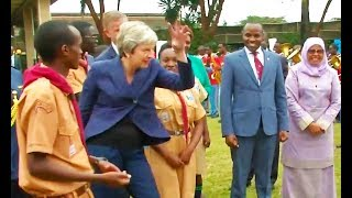 Ozzy Man Reviews: Theresa May Dancing