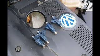Димексид в форсунки. Фиаско.  Будни VW Passat B5