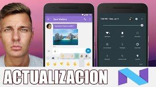 Forzar Actualización a Android 7.0 | Actualizar a Ultima Version Android Nougat