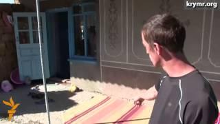 Обыск в крымскотатарской семье в Нижнегорском районе