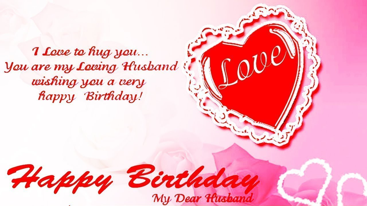 Happy Birthday Wishes For Husband - Birthday Quotes ...