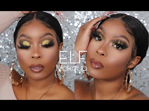 Full Face Only E.L.F. Products | One Brand Makeup Tutorial