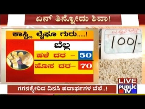 Grocery Prices Hiked Due To Drought And Artificial Scarcity