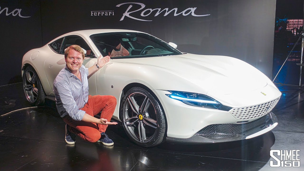 Check Out The New Ferrari Roma First Look Youtube