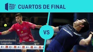 Resumen cuartos de final Chingotto/Tello Vs Belluati/Lijó Logroño Open 2019 | World Padel Tour