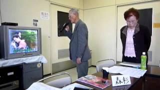 4月のカラオケ教室,女性用課題曲に挑戦.