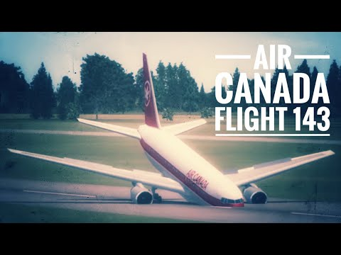 "FSX - ""Catastrophic Calculation"" (Air Canada Flight 143)"