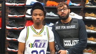 Roddy Ricch Goes Shopping For Sneakers With CoolKicks.