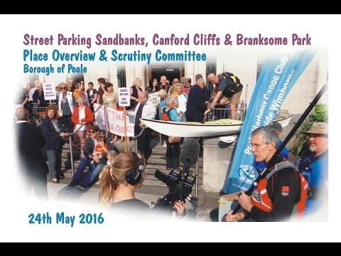 Council Debate - Street Parking Sandbanks, Canford Cliffs & Branksome Park -Poole, Dorset