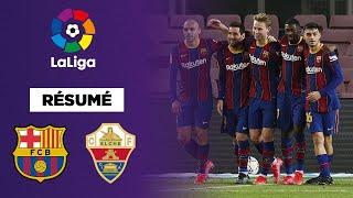 🇪🇸 Résumé - LaLiga : Messi et le FC Barcelone dominent Elche