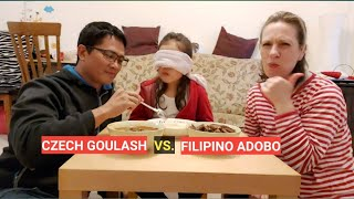 Czech goulash Vs. Filipino adobo. Which one is the best According to Sophia?