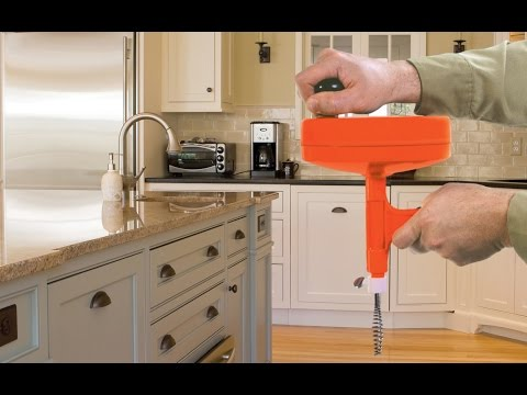 Speedrooter 92 Power Drain Cleaner How To Video Doovi