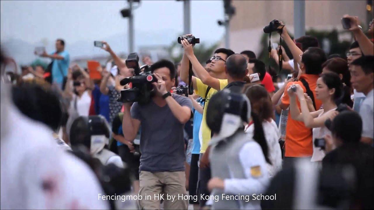 fencingmob in Hong Kong by HK Fencing School (Trailer) - YouTube