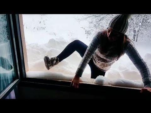 Mi cámara y yo: Atrapados en la nieve