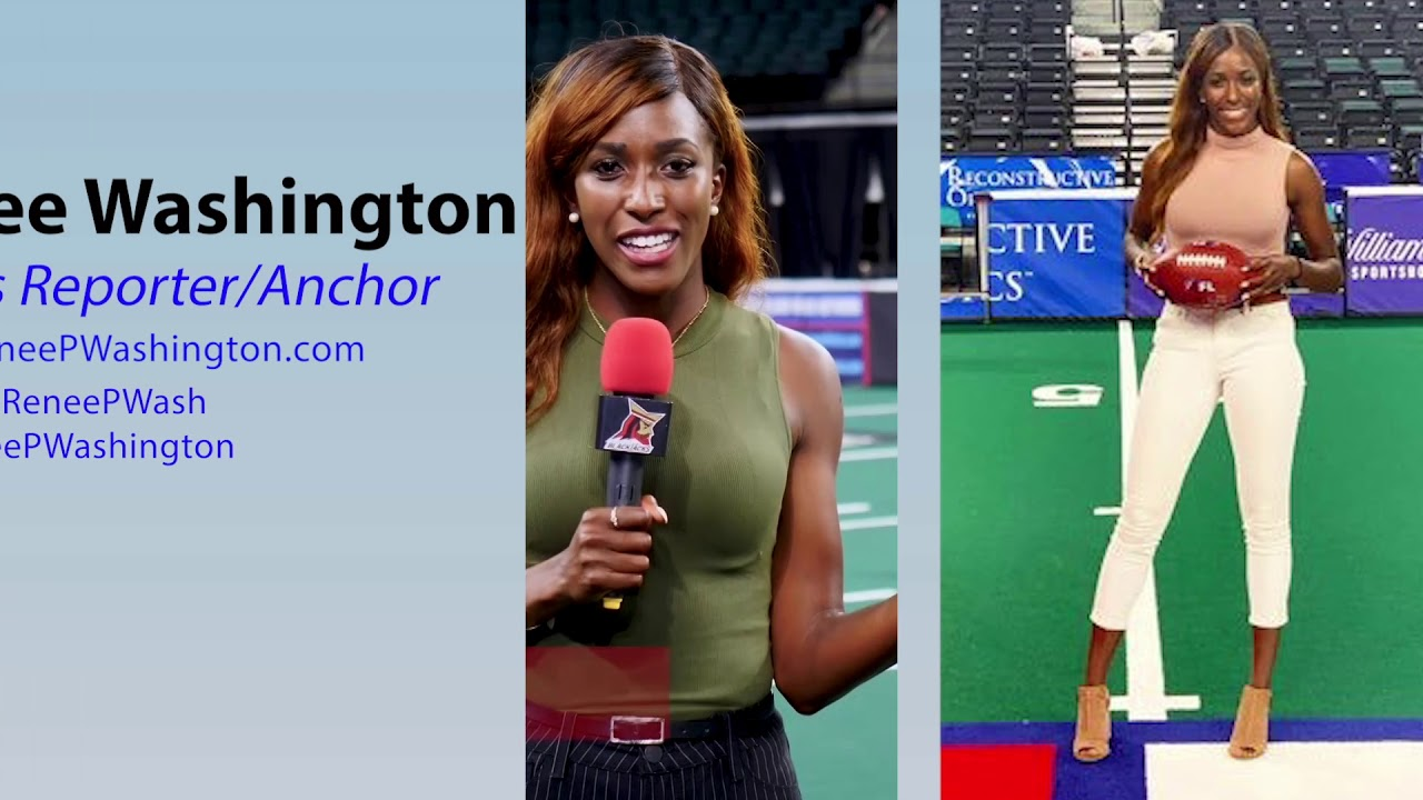 RENEE WASHINGTON:  ESPN/Fox Sports Anchor/Reporter 2019 Reel