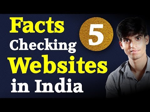 Top 5 Facts Checking Websites In India | Fighting Against Fake News