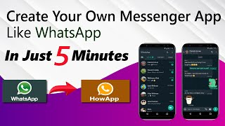How to Create Chatting App like Whatsapp without Coding For Free screenshot 3