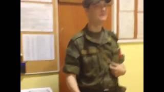 Гуф в армии)))))))))))))смотреть до конца